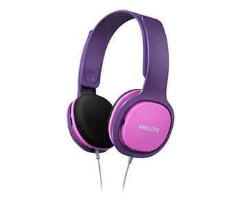 SHK2000PK - Kinder hoofdtelefoon - Roze